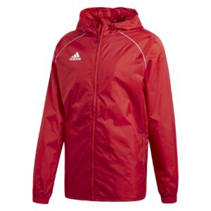 Adidas Core 18 Rain Jacket Red