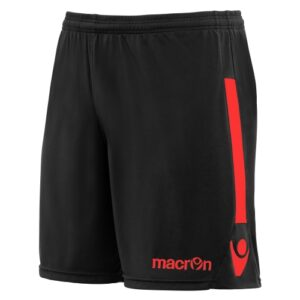 Macron elbe Short black red