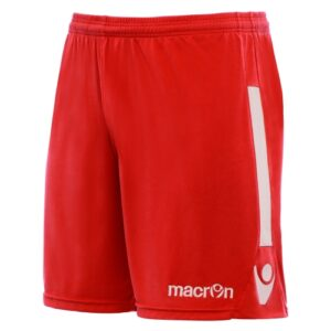 Macron elbe short - red white
