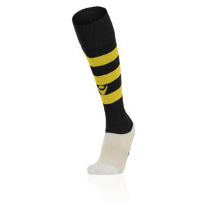 Macron Hoops Socks Black Yellow