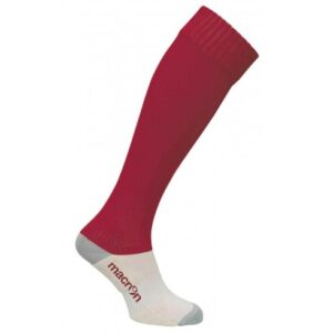 Macron Round Socks - cardinal red