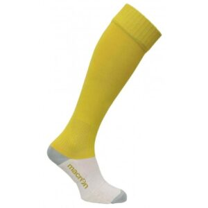Macron round socks yellow