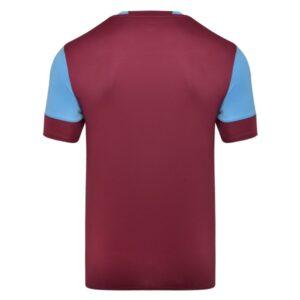 Vier ss jersey - new claret / sky blue back