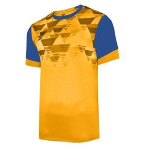 Vier ss jersey - yellow / royal
