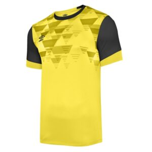 Vier ss jersey - yellow / carbon